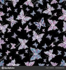 Obrázek Motýla Motýlí Realistické Světlé Tetování Záda Krásný