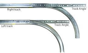 garage door tracks track hardware genie garage door track grease