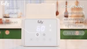 Máy hâm sữa tiệt trùng 2 bình điện tử Fatz Baby Duo 3 FB3093VN