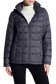 Nordstrom Rack Winter Coats MICHAEL Michael Kors Logo Sleeve Hooded Jacket Nordstrom Rack 40