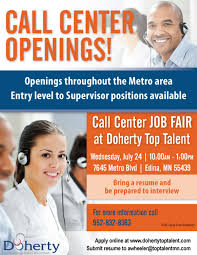 doherty call center job fair 24 in edina doherty the join us in edina for a call center job fair on 24