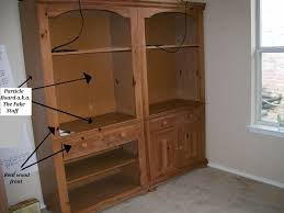 Bookcase Bedroom Furniture The Pear Tree Cottage How To Paint Particleboard Laminate Furniture