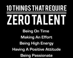 Motivational artwork for office Quality 10 Things That Require Zero Talent White On Black Inspirational Print Motivational Poster Typography Art Office Wall Decor Success Tips Etsy Motivational Poster Etsy