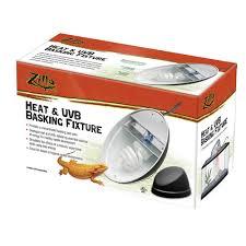 Uvb And Basking Light Heat Uvb Backing Fixture Lighting Heating Zilla