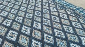 blue kilim rug white uk