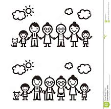 Simple Family Simple Family Illustration Stock Illustration Illustration Of