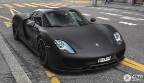 918 spyder matte black. 1 i porsche 918 spyder weissach package matte black
