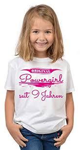 9geburtstag Sprüche T Shirt Kindergeburtstag Mädchen Original