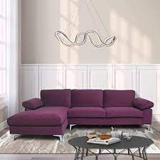 l shape couch tufted chaise couch