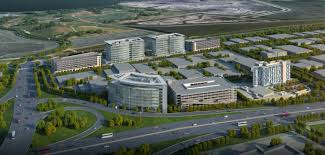 facebook menlo park office.  Park An Artistic Rendering Depicts What The Menlo Gateway Project Will Look Like  When Completed It Consists Of Three Office Buildings A Hotel And Parking  Intended Facebook Park Office O