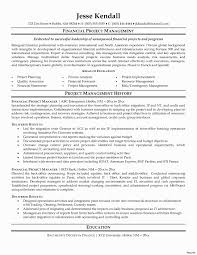 Architectural Project Manager Resume Job Description Contingency Plan Example Small Business Elegant Free Change