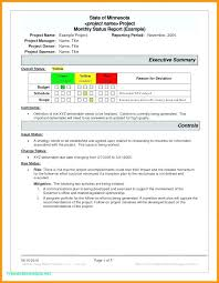 Project Status Report Update Template Management Free Yakult Co
