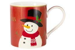 "Сервировка стола: <b>Кружка</b> ""<b>Glitter&Colour Snowman</b>"", 0.35л ..."