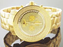 techno diamond watches for mens best watchess 2017 men s king techno grill 558 full case diamonds watch gold tone