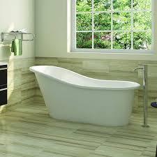americh emperor slipper tub shown installed in bathroom