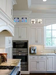 coastal custom cabinet panels glass and wood mosaic palm leaf coastal custom cabinet panels