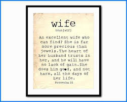 His Wife Quotes