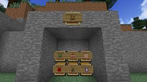 item labels in vanilla minecraft placing an item frame and a sign on the same block