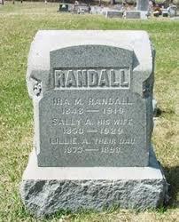 """Sally Ann """"Sallie"""" Phelps Randall (1850-1929) - Find A Grave Memorial"""