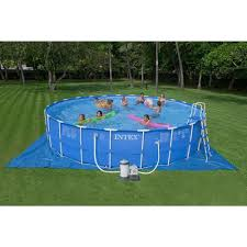rectangle above ground swimming pool. Intex Pool Review Rectangle Above Ground Swimming