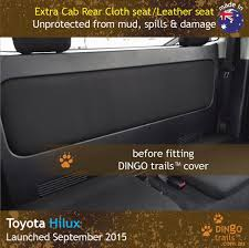 extra cab rear seat covers