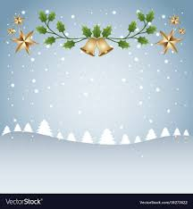 Snow Templates Merry Christmas Card Template Tree Snow And Branch
