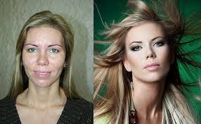 makeup before and after. power of makeup before and after