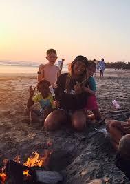 Sunset Bonfire Picture Of Nosara Kids Camp Tripadvisor