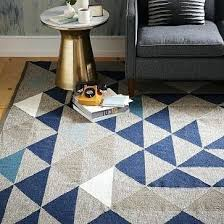 love the colors for your space framed triangles wool rug west elm kilim