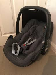 maxi cosi pebble plus isize baby newborn car seat sparkling grey