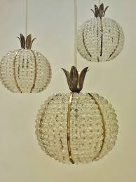 hillebrand vintage pineapple chandelier 1950 s ca german in vintage chandeliers from roomscape