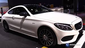 2018 mercedes benz amg c43 coupe. fine amg 2016 mercedesamg cclass c43 coupe  exterior and interior walkaround  new york auto show youtube and 2018 mercedes benz amg c43 coupe g