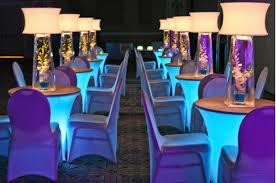 illuminated spandex stretch table