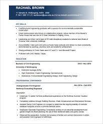 Civil Engineer Resume Sample Pdf Templates Resume Examples
