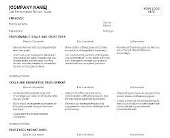 Job Performance Evaluation Form Templates Beauteous Work Performance Template Maneyco