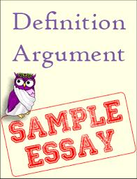 sample definition argument excelsior college owl definition argument thumbnail