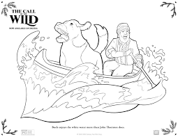 Coloring is a very useful hobby for kids. The Call Of The Wild Free Printable Coloring Pages Activity Sheets