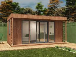 home office in the garden. Theodore Garden Office W5.0m X D3.3m Home In The