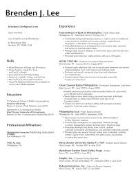 Skills To Put In A Resume Examples