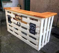 diy bar projects for wooden pallets