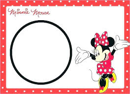 Free Printable Minnie Mouse Invitations S Mickey And Party