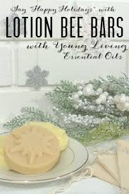 diy lotion bar with young living essential oils