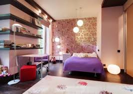 decorating teenage girl bedroom ideas. Bedroom Ideas For Teen Girls Nice Sofa In Gray Sideboar Dressing Table Set Purplr Curtain Small Cool Bed Room Porcelain Tile Flooring Decorating Teenage Girl L