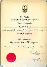 diploma in credit mgt slicm razak athif murad fahmy diploma in credit management sri lanka institute of credit management slicm