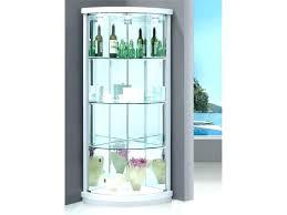 corner curio cabinet ikea small