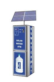 Solar Powered Vending Machine Beauteous Solar Water ATM Or Vending Machine Water Atm Or Vending Dispensing