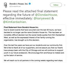 Kanye Wests Chicago Charity Will Drop His Mothers Name