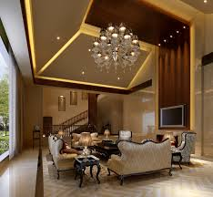 luxury living room furniture. Spectacular Crystal Chandelier Feat Droped Ceiling Lights Over Midcentury Luxury Living Rooms Furniture Set As Ewll Wooden Wall Exposed Inspiring Open Room Y