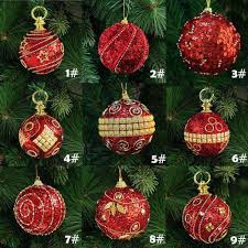 8cm/80mm Christmas Decor Luxury Round Christmas Balls Wedding Xmas Tree  Ornament Decoration Home Office Diy Festival Celebration Holiday Decorating  Holiday ...