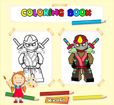 how to color lego ninjaGo coloring book for kids for Android - APK Download